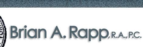 Brian A. Rapp, R.A., P.C.